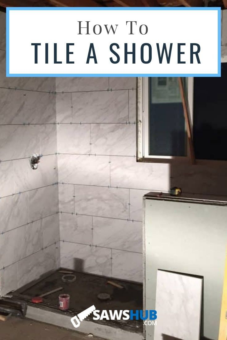 Complete Guide On How To Tile A Shower Wall And Floor Shower