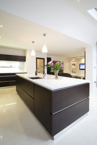 Kitchens +modern +eco-friendly Wood + High Gloss Design, Pictures, Remodel, Decor and Ideas