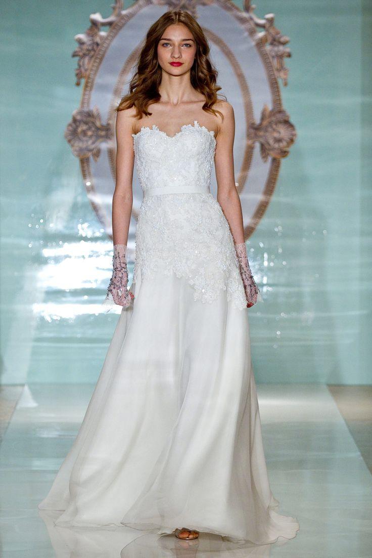 52 best Sleeveless Wedding Dress images on Pinterest | Short wedding ...