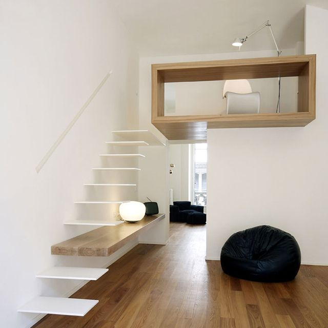 Home Studio by Studioata: Idea, Floating Stairs, Studios Apartment, Interiors Design, Interiordesign, Architecture, House, Home Studios, Home Offices