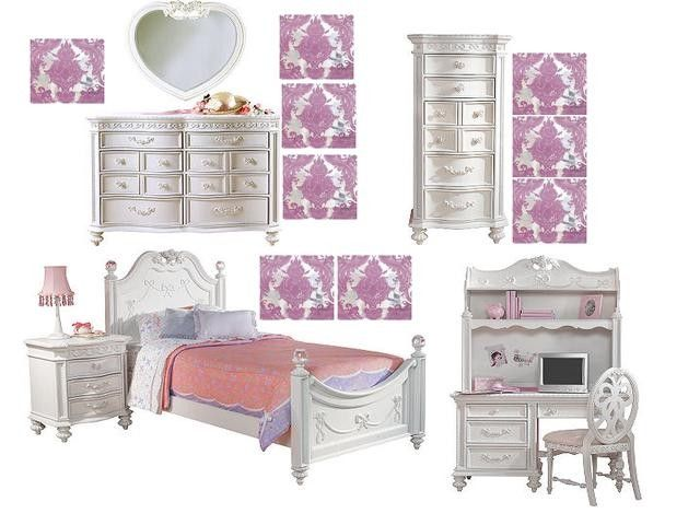 Disney princess bedroom set from rooms to go kids for Rooms to ho kids