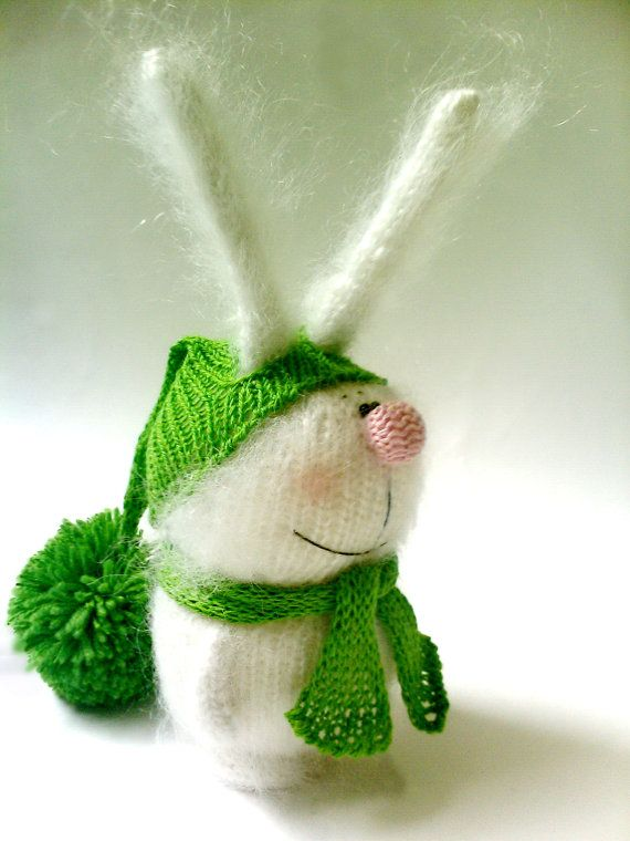 Fluffy bunny / amigurumi / stuffed toys Gift Ideas by MiracleStore