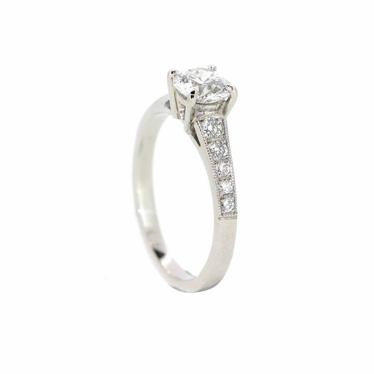 Stunning cushion cut diamond ring, hand made on site at Clayfield Jewellery in Nundah Village, North Brisbane
