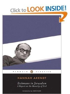 Amazon.com: Eichmann in Jerusalem (Penguin Classics) (9780143039884): Hannah Arendt: Books