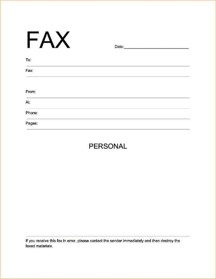 Image result for fax cover sheet pdf