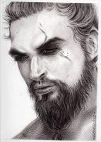 Khal Drogo by ThessaGreenleaf