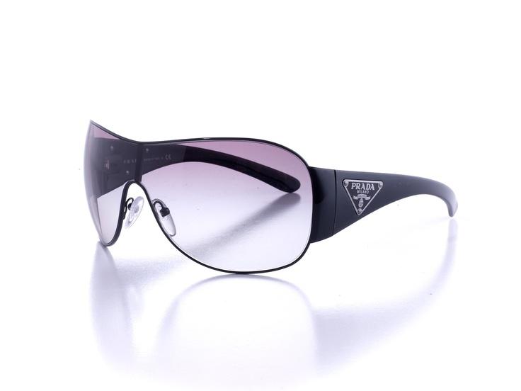 93ef6b2d9ff5 Prada Shield Sunglasses Grey White Black