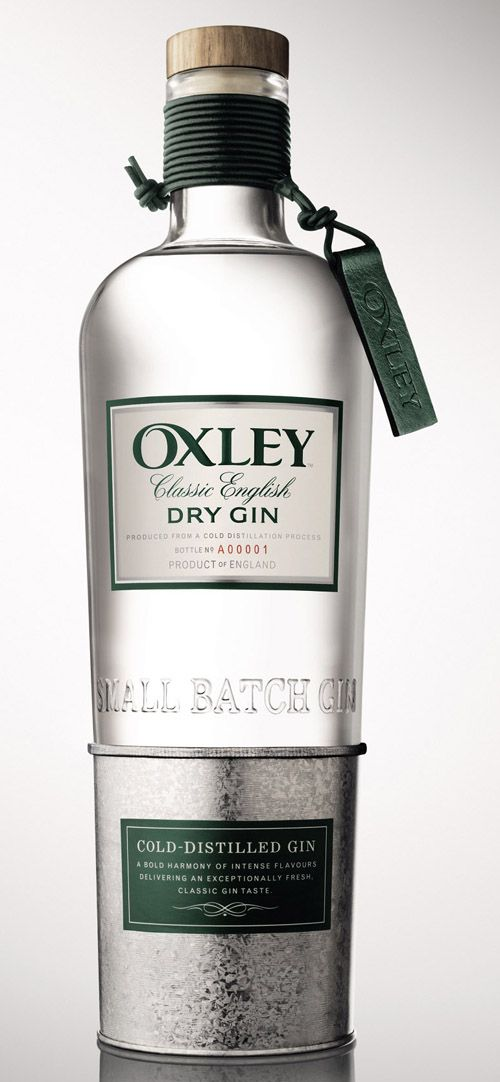 Oxley Gin | #packaging #bottledesign #gin