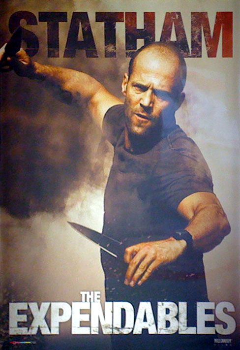 Statham.... It's nice to see that name on a movie poster. :)