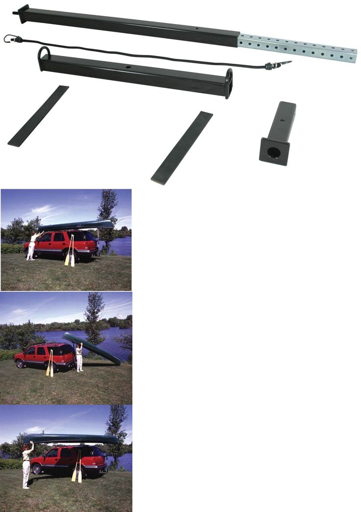 Other Kayak Canoe and Rafting 36123: Kayak Canoe Loader Car Truck Suv Roof Trailer Hitch Mount Reese Towpower Rack -> BUY IT NOW ONLY: $48 on eBay!