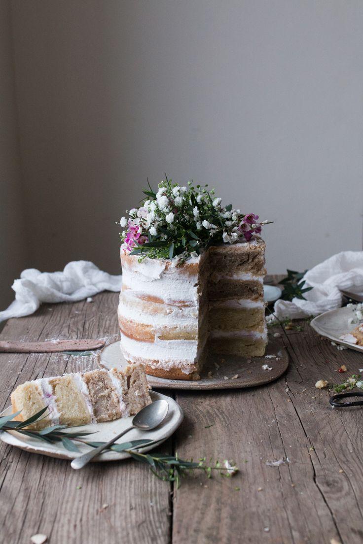 Vegan rhubarb layer cake + supperclub announcement - The Little Plantation / Salvia+Limone