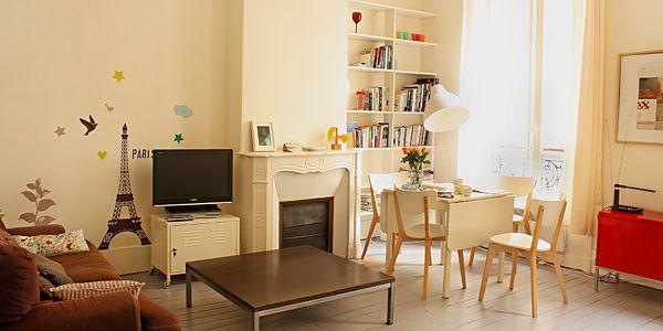 A bit far out but cheap and 2bedrooms Appartement Blanc, Marais-Oberkampf, Paris, France Hotel Reviews | i-escape.com