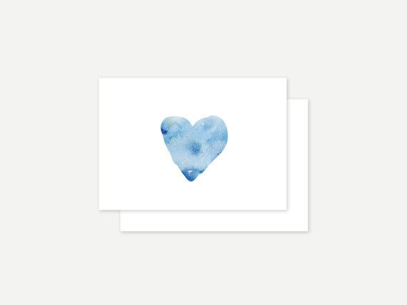 Love greeting card by ithinkcreative on Etsy