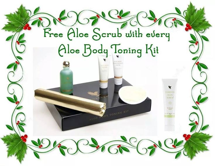Designed to tone, trim and tighten the skin whilst minimising the look of cellulite, the Aloe Body Toning Kit includes signature products Aloe Body Toner, Aloe Body Conditioning Creme and Aloe Bath Gelée, plus a loofah mitt and cellophane wrap.... Treat yourself to a body wrap to help tone your body before the Christmas Party season kicks in....Buy from www.aloe-health.me.uk and inbox me for your free Aloe Scrub.