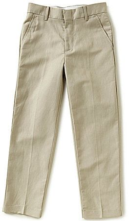 Class Club Big Boys 8-20 Flat-Front Linen Pants