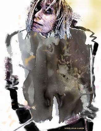 Self Portrait - Painting, drawing, photo