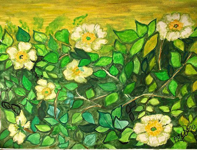 GALERIA PALOMO MARIA LUISA: OTRAS ROSAS SILVESTRES....inspirada en obra de Vin...