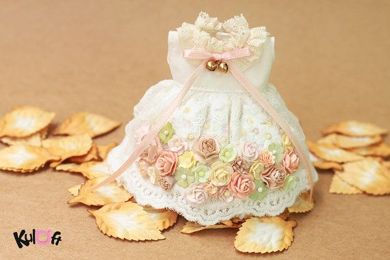 Blythe Secret flowers Dress by kuloft on Etsy
