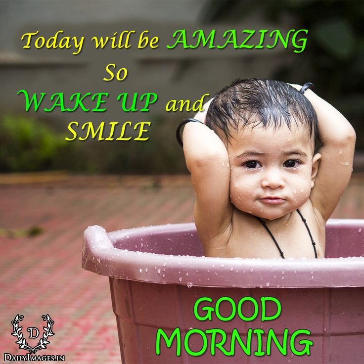 """Today will be AMAZING so WAKE UP and SMILE.""""GOOD MORNING"""" #goodmorning #gm #quotes"""