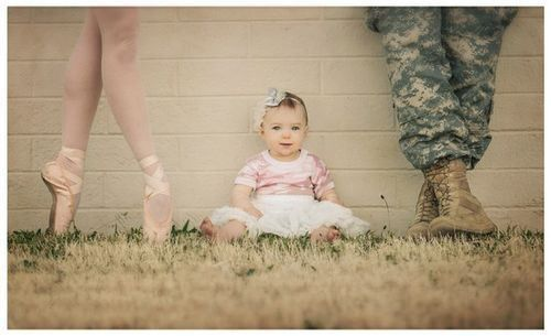 Army baby picture
