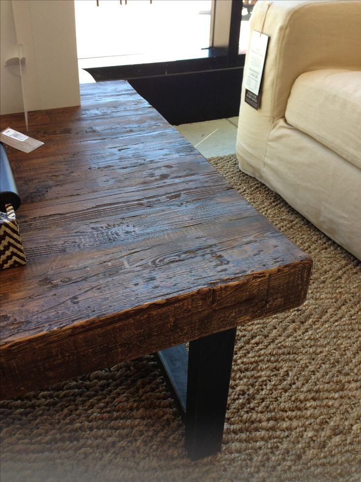 17 Best Ideas About Reclaimed Wood Coffee Table On