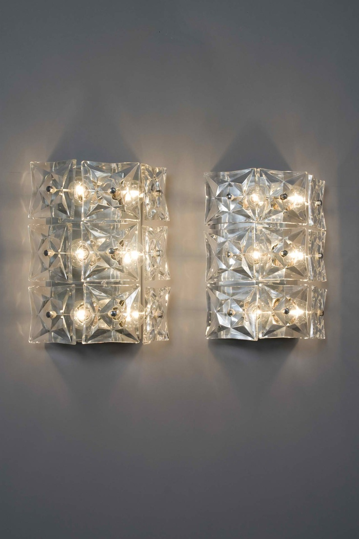 Crystal sconces Home furniture Pinterest Bathroom, Sconces and Crystals