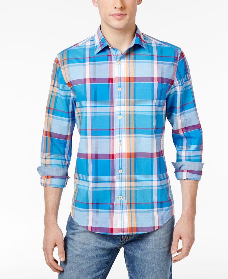 Tommy Hilfiger Men's Radford Plaid Cotton Shirt