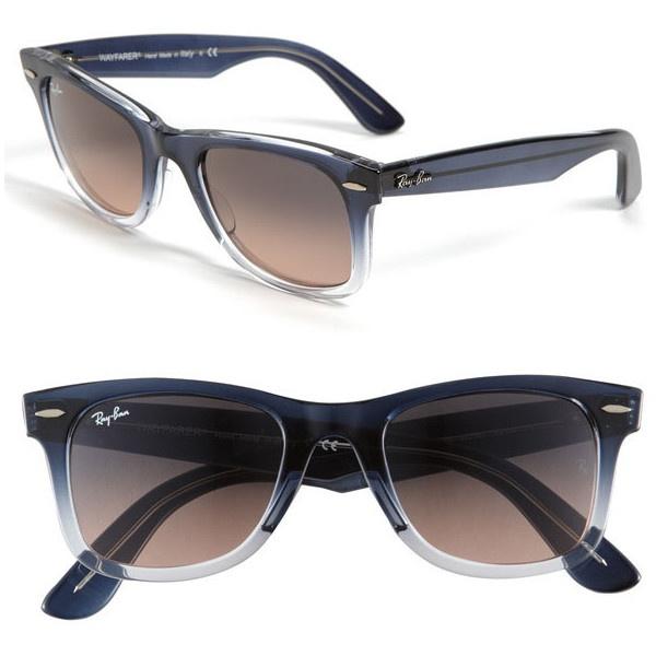 8ab43bd770a ray ban wayfarer sunglasses black yellow grey fade