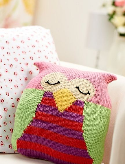 Owl cushion pattern by Amanda Berry from Let\u0027s Get Crafting Knitting \u0026 Crochet issue 48 & 541 best Knit baby blanketscushions toys hats.... images on ... pillowsntoast.com