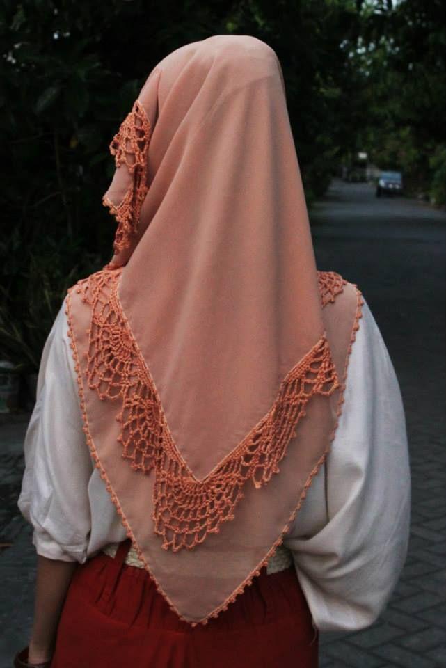 crochet hijab 2