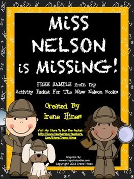 miss nelson coloring pages - 1000 images about miss nelson is missing activities on