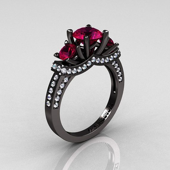 1360 best Gothic Engagement Rings images on Pinterest | Gothic ...