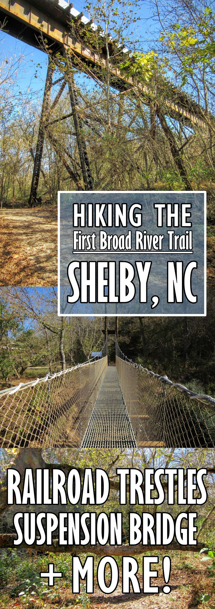 Hiking in Shelby NC the First Broad