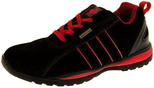 Oferta: 55.99€ Dto: -46%. Comprar Ofertas de Northwest Territory Hombre Negro Zapatos De Puntera De Seguridad De Cuero EU 43 barato. ¡Mira las ofertas!