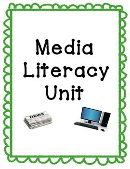This Media Literacy Unit includes anchor charts, Scoot-like activities, lessons using websites and other types of media, and ideas to teach purposes and types of media.  I was able to use these activities for 4 full weeks of instruction.
