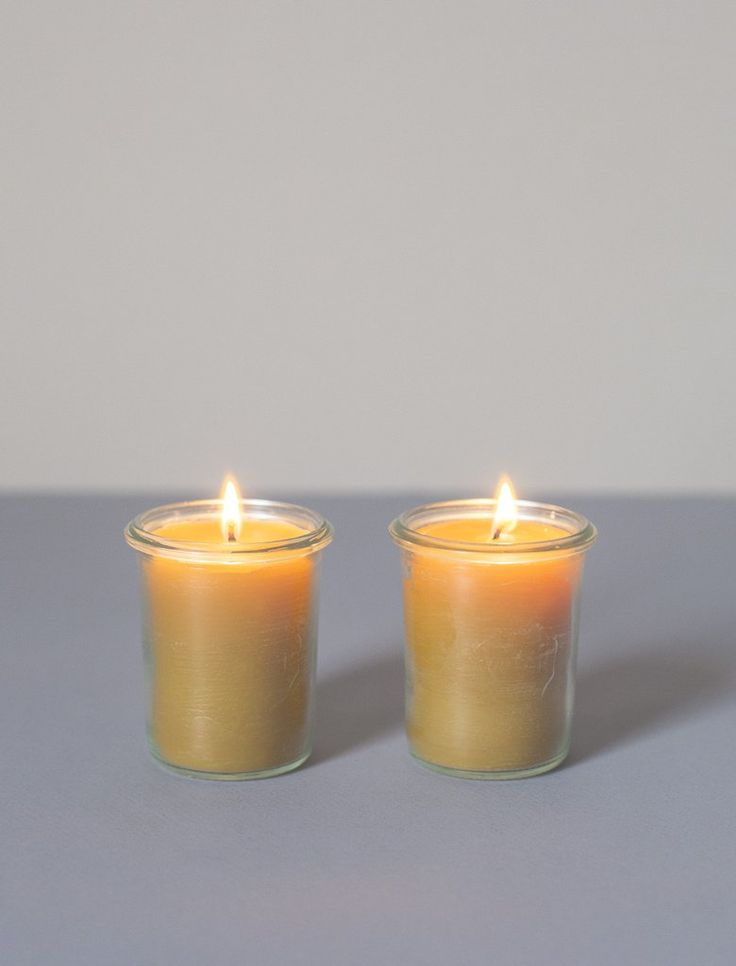 Pure Beeswax Weck Candle