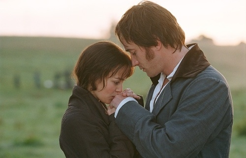 Your hands are cold.  Pride and Prejudice