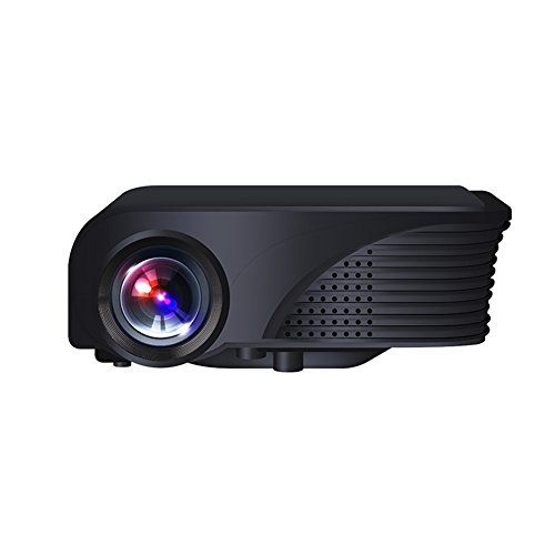 EVERYONE GAIN DH-mini280 High Definition 800*600p Home Theater LCD Projector Support 1080P Built-in Speaker HIFI Audio Games with HDMI VGA AV USB TFCard