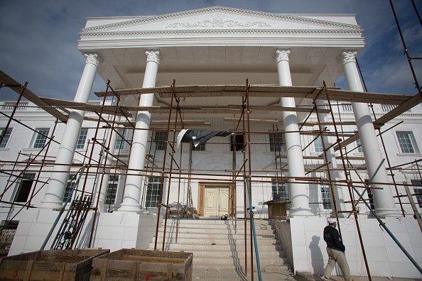 Iraque ganha réplica de R$ 56 milhões da Casa Branca em bairro de luxo (Foto: Matt Cardy/Getty Images) http://glo.bo/13vgmaj