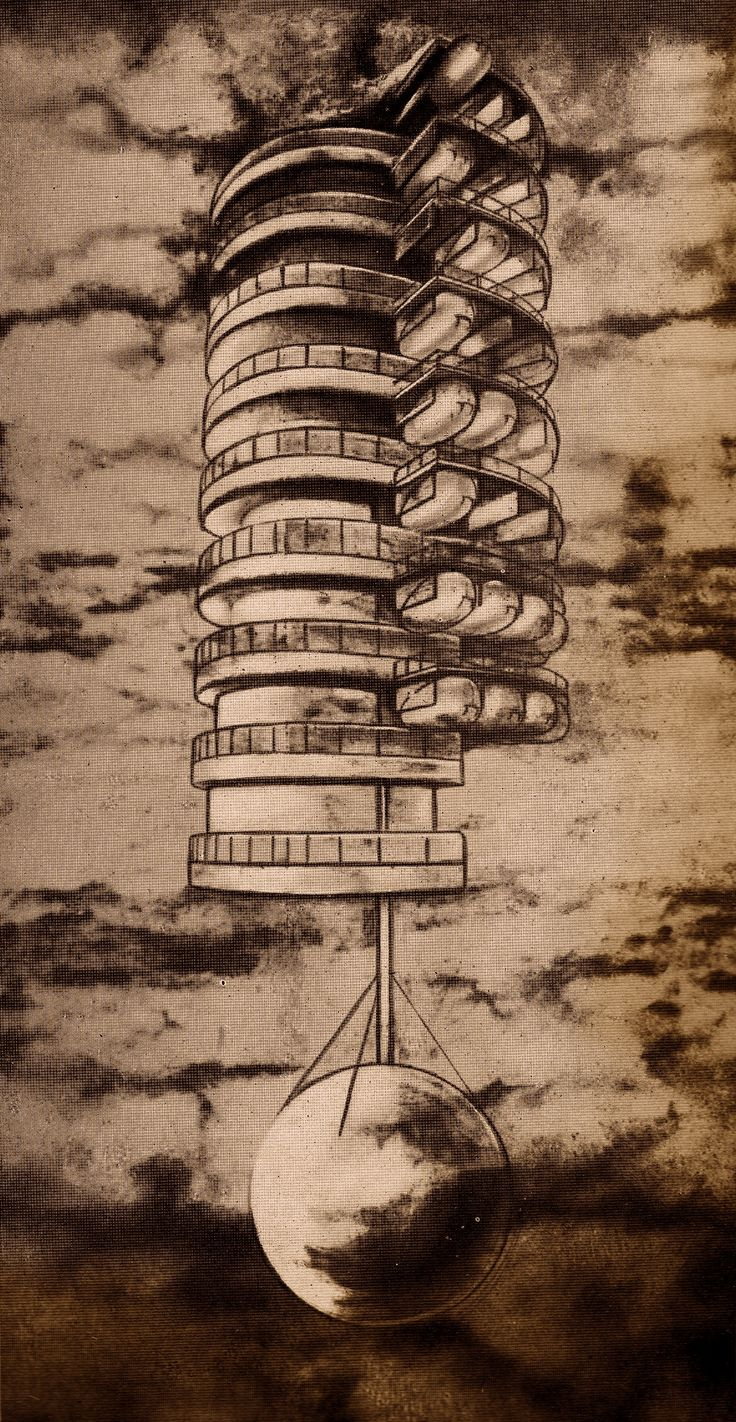 "Georgii Krutikov's ""flying city"" (1929)"