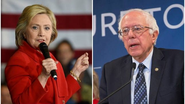 April 22, 2016 >>> Poll: Clinton and Sanders neck and neck in California   TheHill