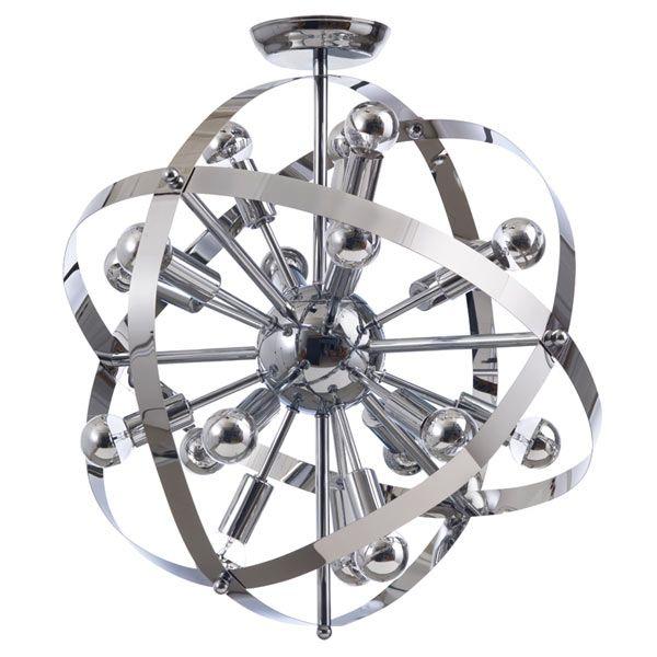 sputnik light chandelier