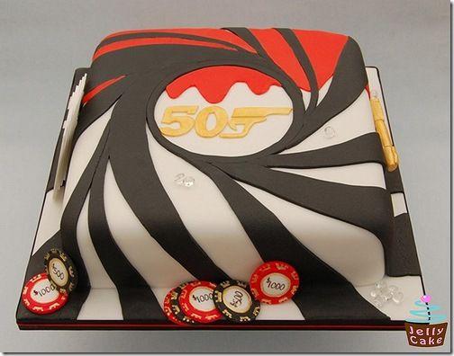 James Bond Cake PERFECT!