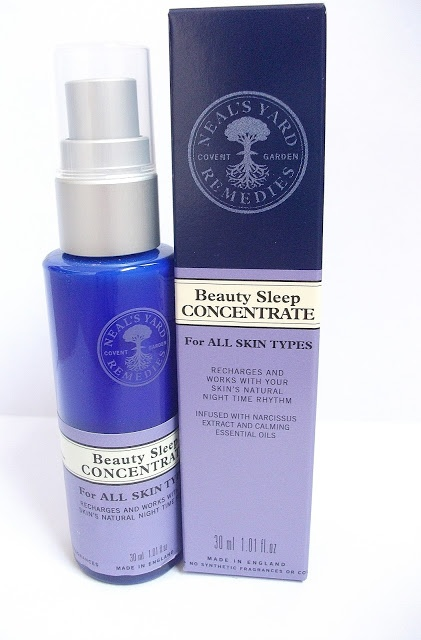 Neal's Yard Beauty Sleep Concentrate - most amazing amazingness in a tube.