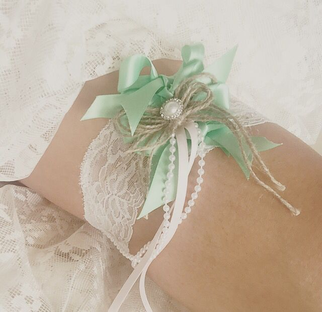 Garters for the bridal party