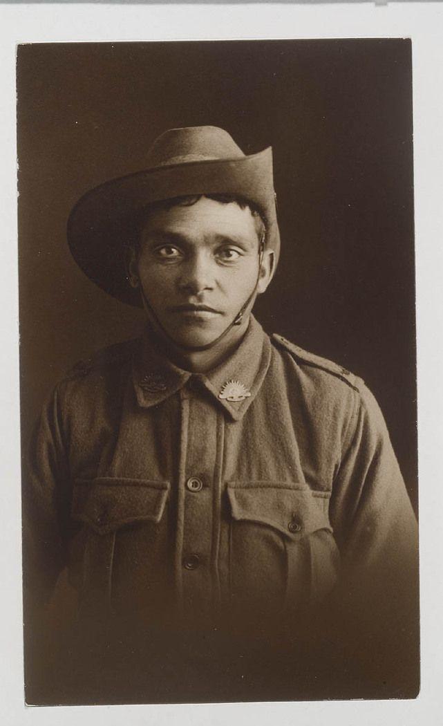 NSW servicemen portraits, 1918-19 - Mark Richard Wortley