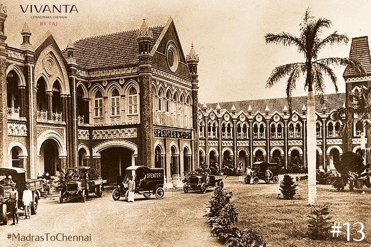 Eugene Oakshott's involvement in the modernisation of Chennai is pivotal as he helped establish Spencer's which was to become the biggest retail stores in India.  His death in 1911 resulted in all the establishments of Madras and Bangalore Trade Associations, closing for a day.  #MadrasToChennai #Connemara #VintageCool