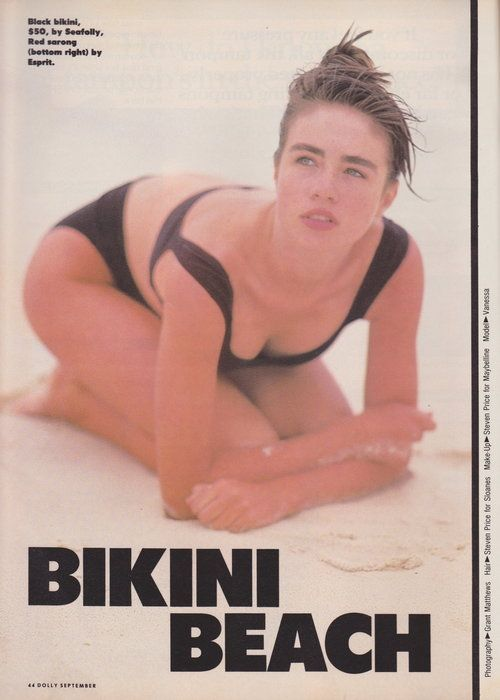 Dolly September 1988 | Vanessa Kelly | Bikini Beach 01