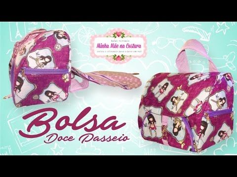 Bolsa Doce Passeio - Minha Mãe na Costura