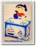 Ξύλινο Μπαουλάκι Βάπτισης Πειρατής - Ξύλινα  http://www.vaftisigamos.gr/index.php?option=com_virtuemart=shop.product_details=vmj_color_plus.tpl_id=854  Ξύλινο Κουτί Μπαουλάκι- Καναπεδάκι Πειρατής,ζωγραφισμένο με έναν γλυκύτατο πειρατή,καραβάκια,τιμονάκια κι άγκυρες.